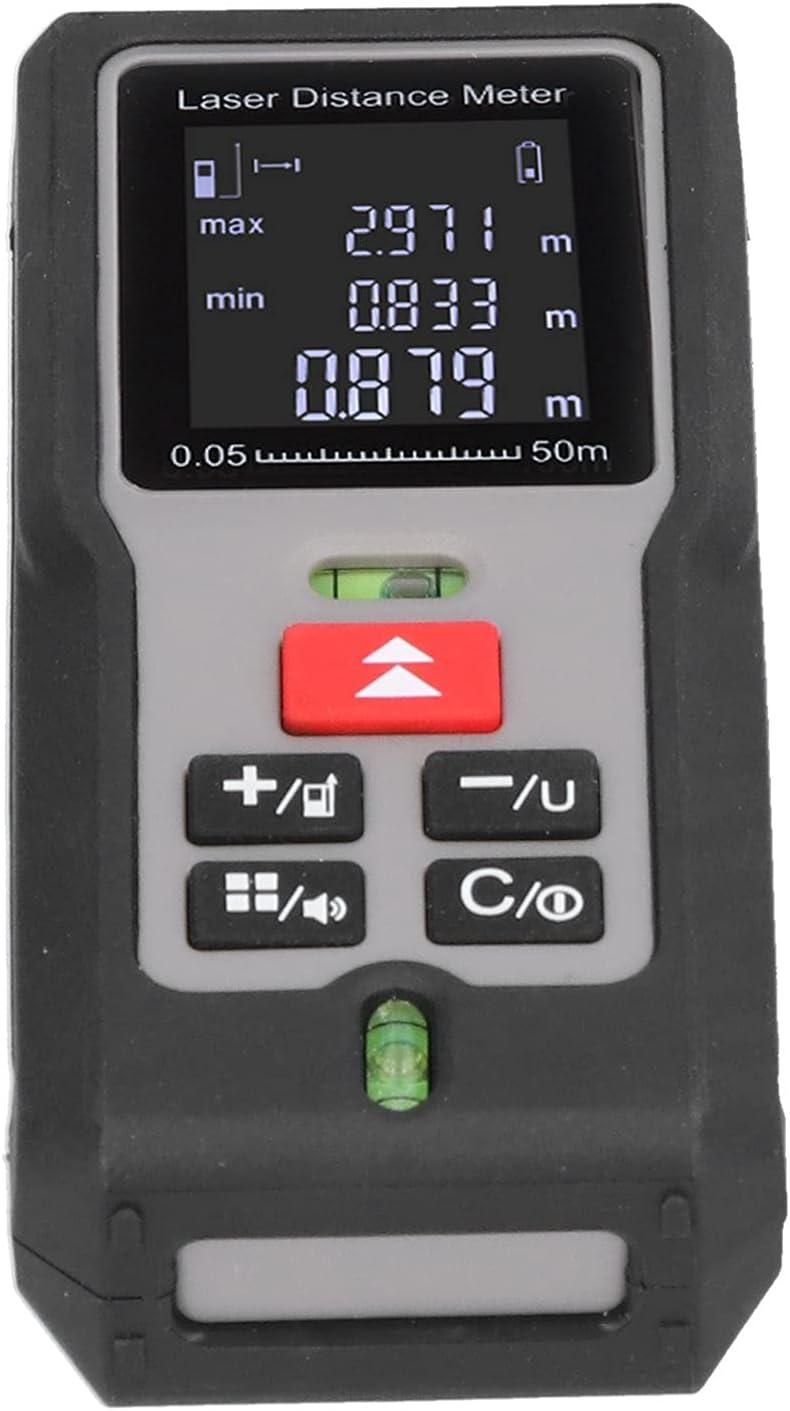 Telémetro láser M100 100M Medidor de distancia por infrarrojos Equipo de medición de distancia 5.8oz