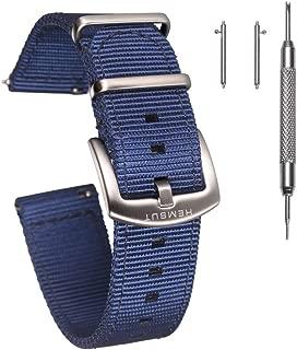 Best blue nylon watch strap Reviews