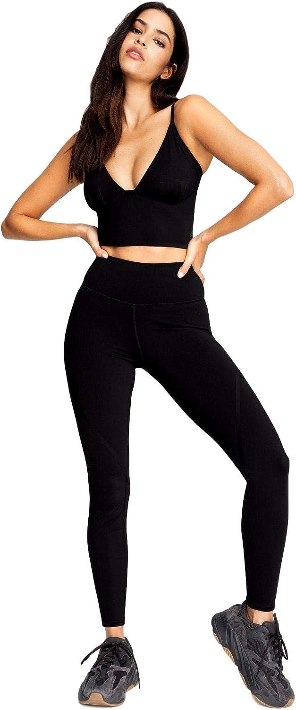 Good American Women's Bonded Legging, BLACK001, 1
