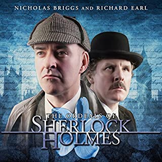 Sherlock Holmes - The Ordeals of Sherlock Holmes cover art