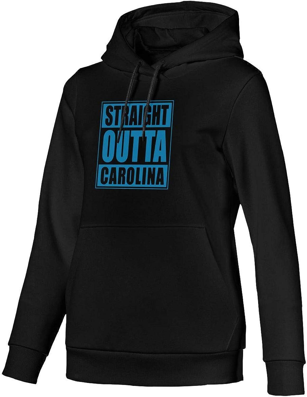 Straight Outta Carolina Women Long Sleeve Hoodie