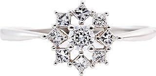 カナディアンダイヤモンド リング 計0.34ctUP [PT950] 専用ケース付 13号