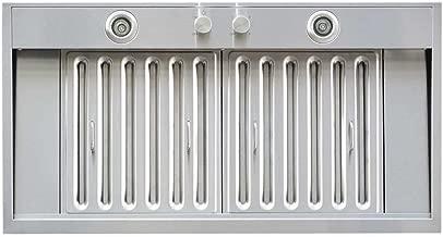 Windster Hood WS-69TS36 Residential Stainless Steel Insert/Liner Range Hood, 36-Inch