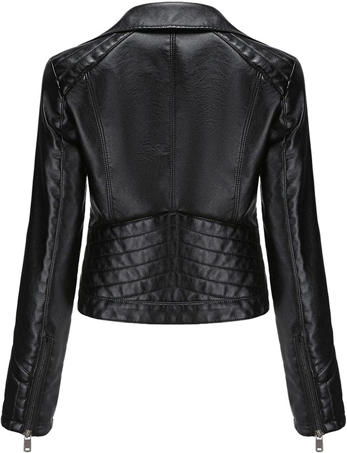 Max 84% OFF Changeshopping Womens Faux Leather Coat Winter Lapel Jacke Motor Mail order cheap