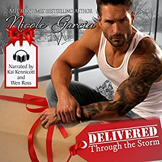 Delivered Through the Storm audiobook cover art