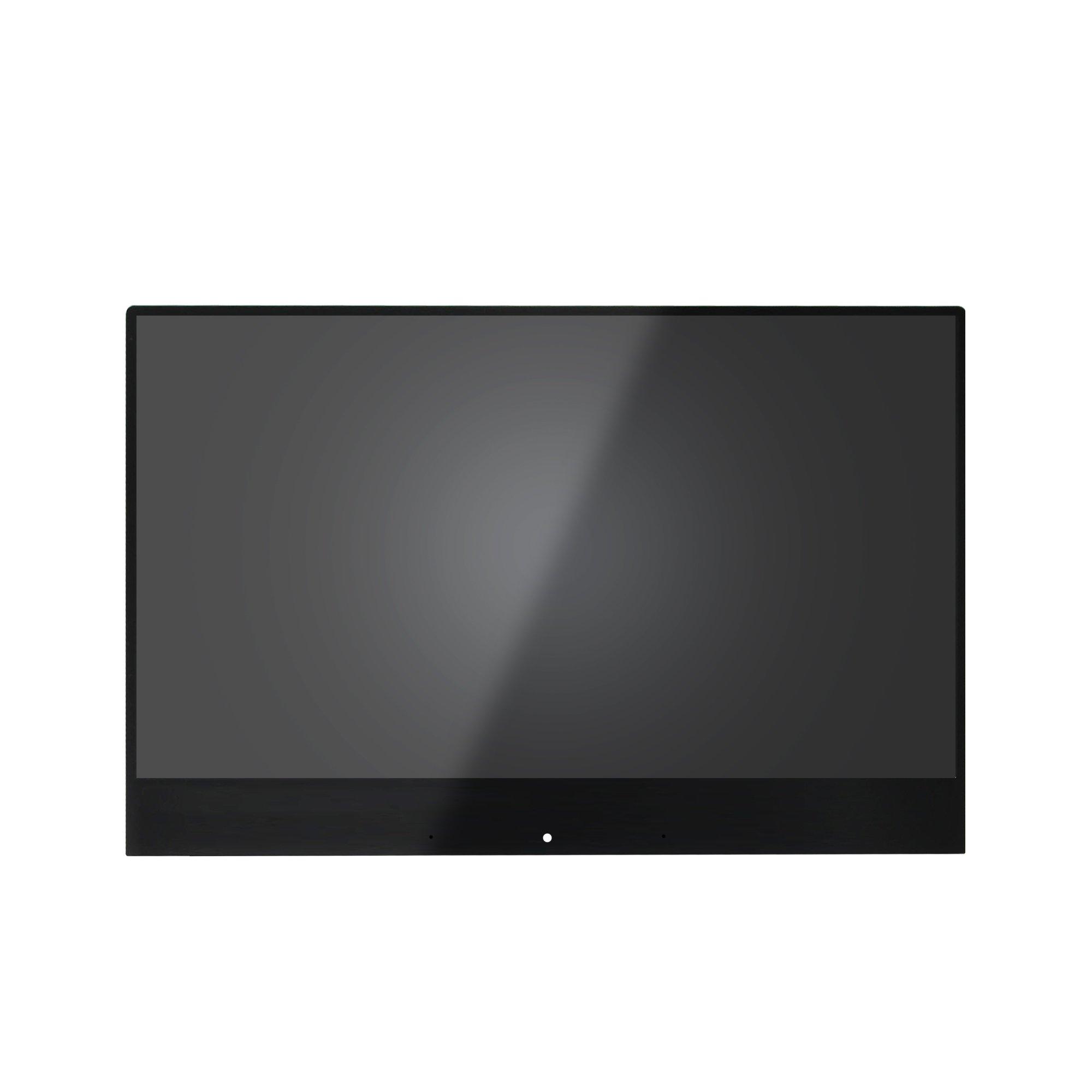 FTDLCD® 14 pulgada 4K LED LCD Pantalla Táctil Digitalizador Panel Repuesto de Asamblea para Lenovo Yoga 910-13IKB 80VF00A8US (Dorado Cable): Amazon.es: Electrónica