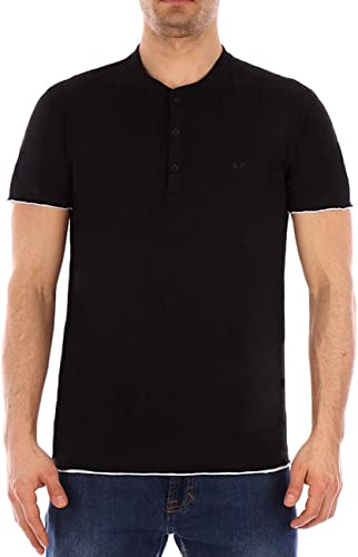 T-Shirt SUN68 Noir séraphin