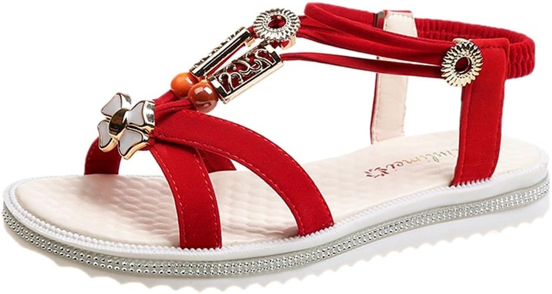 Sandaler för skor till till till Jiang kvinnor sommar Flat Korea ny strand Non -Slip Sandals transporterade skor med låg tå  arenan