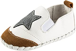 Estamico Baby Boys' Leather First Walkers Shoes