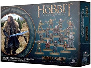 Games Workshop The Hobbit: Thorin Oakenshield and Company Miniatures