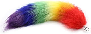 Best rainbow wolf tail Reviews