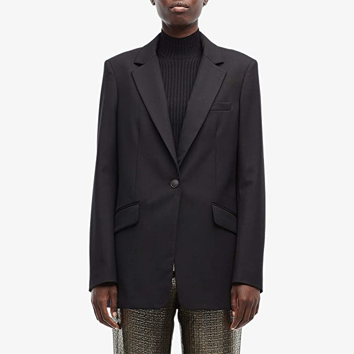 rag and bone  Ames Twill Blazer (Black) Womens Clothing