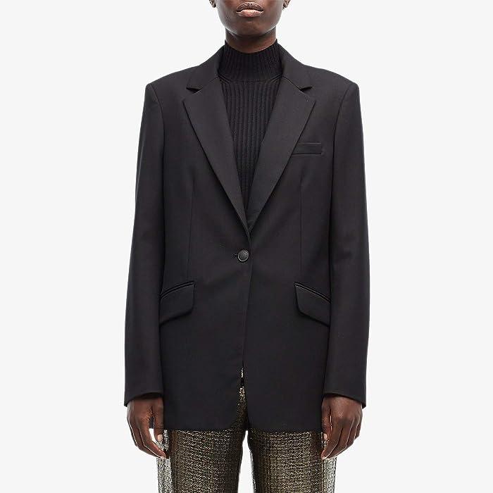rag and bone  Ames Twill Blazer (Black) Womens Clothing