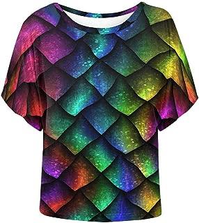 dragon scale sleeve shirt