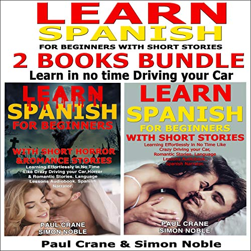Learn Spanish for Beginners with Short Stories 2 Books Bundle Titelbild