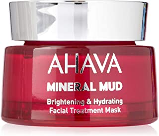 AHAVA Brightening&Hydrating Facial Treatment Mask, 50 mls