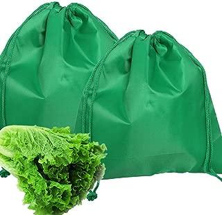 ZenBoo Lightweight & Durable tomato lettuce radish garlic fruits herbs potato onion banana organic foods Storage Bag (Lettuce bag- 2 pack)