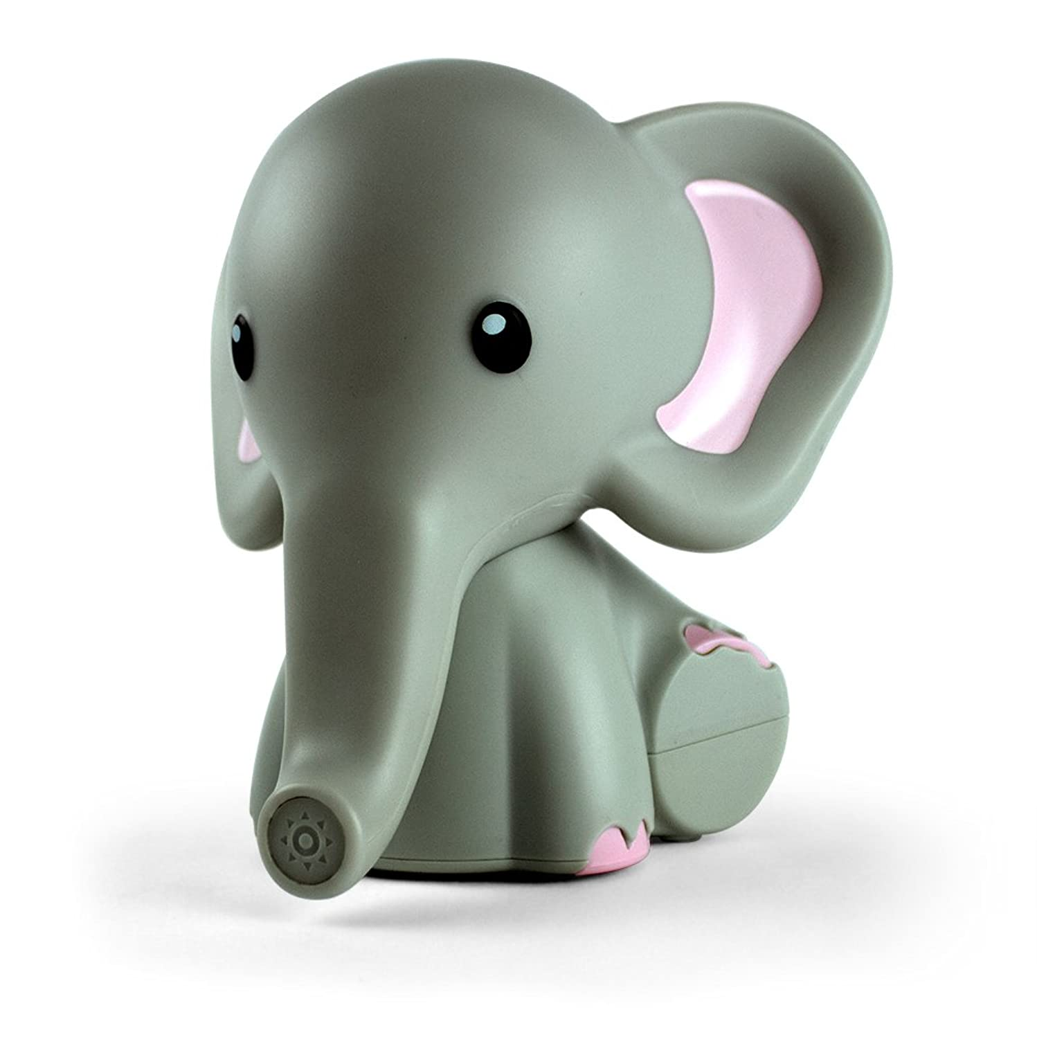 Kids Night Light, Elephant | Portable & Bedside Nightlight | 5 Color Changing LEDs & Auto Timer | mybaby, Comfort Creatures