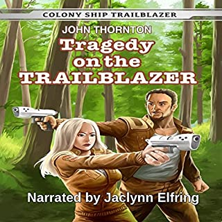 Tragedy on the Trailblazer audiobook cover art