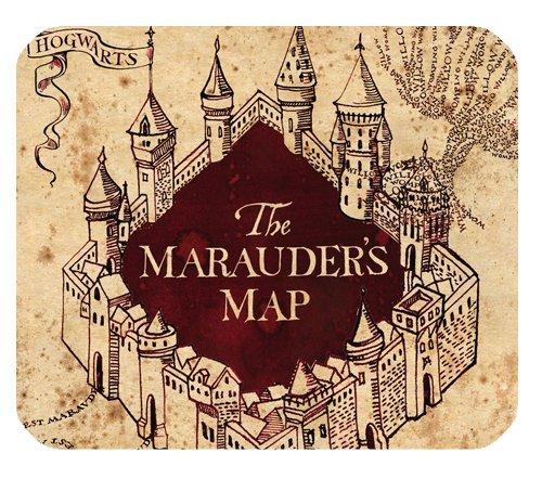 Harry Potter die Karte des Rumtreibers Custom Büro Rechteck rutschfeste Gummi Mousepad Mauspad