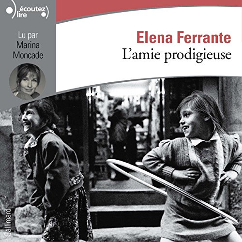 L'amie prodigieuse audiobook cover art