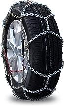 Car Anti-Skid Chain Car Tire Anti-Skid Chain Titanium Alloy Iron Chain Bold Encryption 16MM Snow Chain (Size : 23565R17)