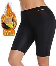 MISS MOLY Neopreen saunabroek Hot Thermo Sweat 1/2 Thigh Body Shaper Running Short Slimming Workout Capri Leggings voor Vr...