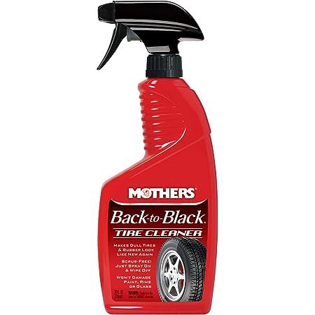 Mothers 09324 Back-to-Black Tire Cleaner, 24 fl. oz.
