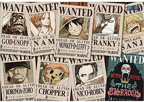 Wapipey Nuovo Anime One Piece Ricercato Collection Oda Eichiro Haksan puzzle 1000 pezzi di un puzzle in legno for adulti decompressione Intelligenza Giochi for bambini puzzle di casa Gifts gioco educa