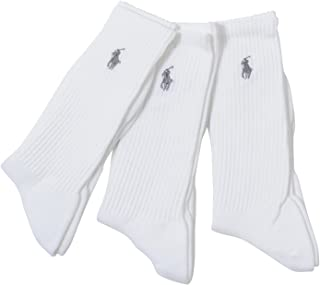 3-Pack Tech Athletic Crew with Polo Player Embroidery