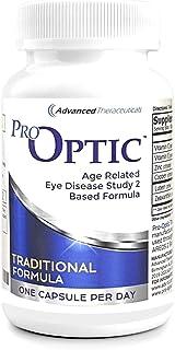 Pro-Optic Traditional Formula (Age Related Eye Disease Study 2 Based), 180 Capsules, 1-Per-Day