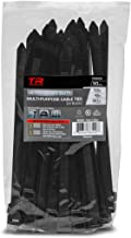 TR Industrial Ultra Heavy Duty Multi-Purpose UV Cable Ties (50-Piece), 250 lbs. Tensile Strength, 8.9