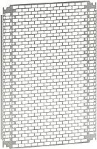 Legrand LEG36012 Plaque perfor/ée Lina 25 pour Atlantic//Inox//Marina 400 x 300