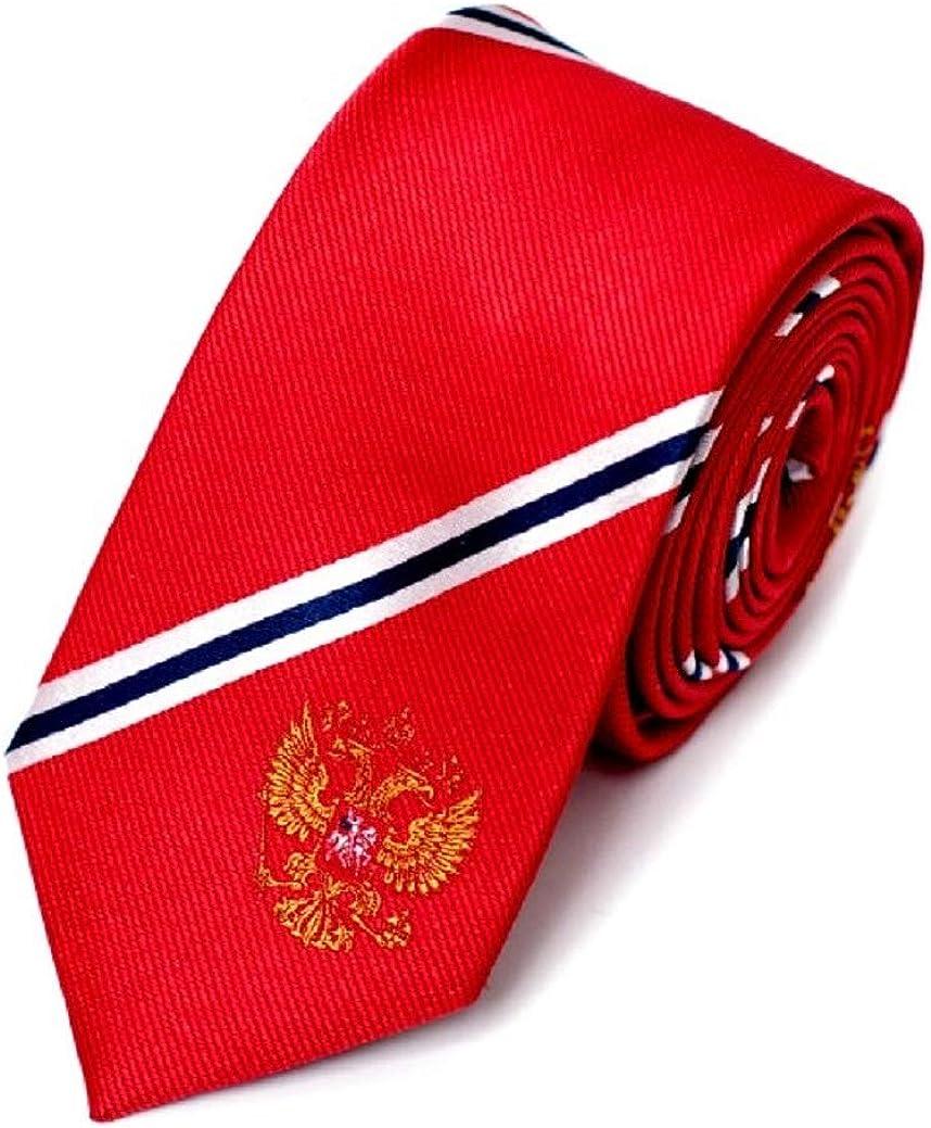 Russia Tie 100% 推奨 ☆正規品新品未使用品 Silk Woven