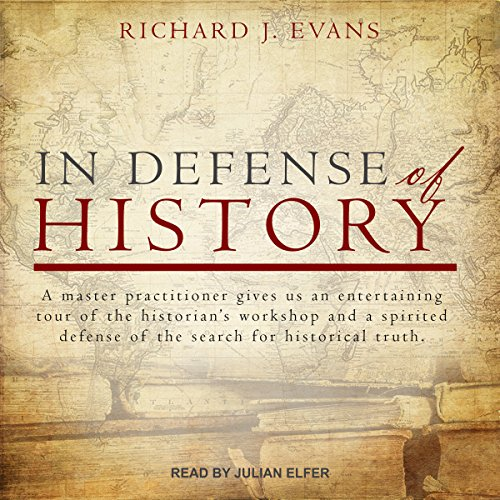 In Defense of History audiobook cover art