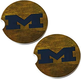 Michigan - Sandstone Car Drink Coaster (set of 2 coasters)