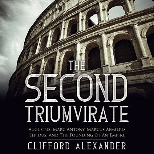 The Second Triumvirate audiobook cover art