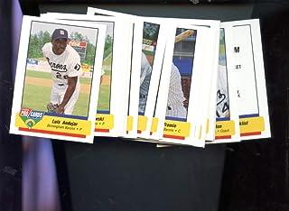 best loved 3a6ea 7db69 1994 Fleer Pro Cards Birmingham Barons Complete Set Michael Jordan Baseball