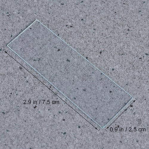 UEETEK 50 Mikroskop Objektträger & 100 Deckgläser Erfahrungen & Preisvergleich