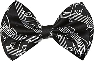 Pre-tied Bow Tie in Coool Brand Gift Box- Music Sheet