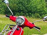 JDDRCASE 22mm 7//8-Zoll nagelneue Motorrad-Anti-Skid Lenkergriffe Griffe Lenker for Piaggio Vespa GTS 300