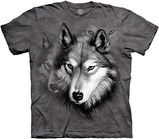 The Mountain Kids Wolf Portrait T-Shirt