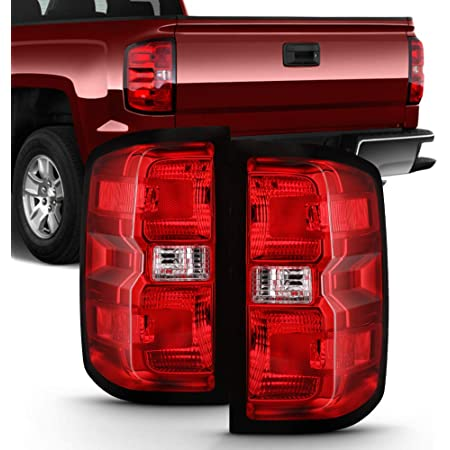 For 2014-2018 Chevy Silverado 1500 Pickup Truck Rear Tail Lights Brake Lamps Assembly Driver /& Passenger Side ACANII