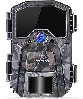 APEMAN Cámara de Caza 16MP 1080P Cámara de vigilància de la Vida SilvestreCámara de Juego de detección Nocturna sin LED de Brillo de 940nm IRLapso de TiempoTemporizadorDiseño Impermeable IP66