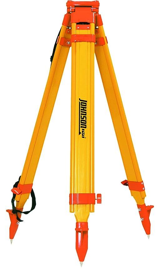 Johnson Level & Tool 40-6332 Fiberglass Tripod