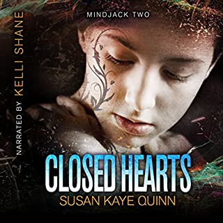 Closed Hearts: (Book Two in the Mindjack Trilogy) audiobook cover art