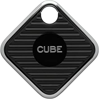 Cube プロ キー ファインダー トラッカー ボリュームおよび範囲2倍 バッテリー交換可能 スマホ 探知機