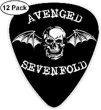 LeenLznn Avenged Sevenfold 12 Pack Colorful Guitar Pick for Guitar Bass