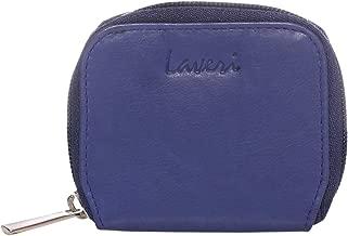 Laveri Unisex Coin Purse - Leather, Dark