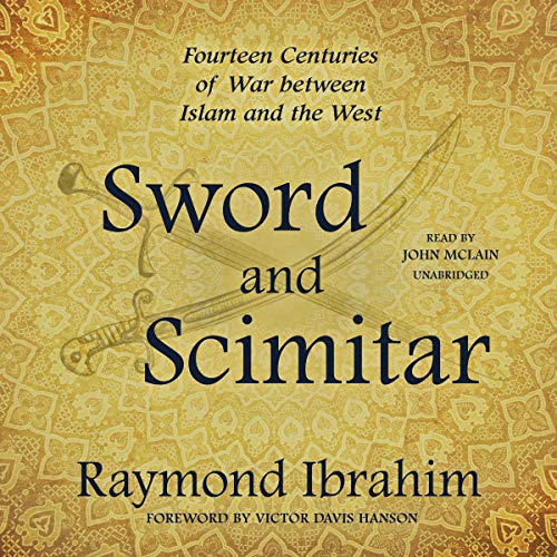 Sword and Scimitar audiobook cover art